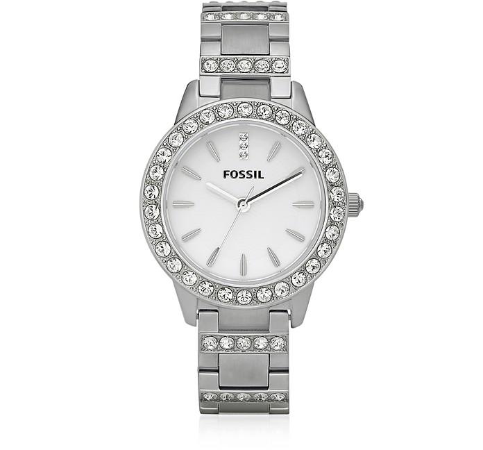 Jesse Silver Tone Women's Watch - Fossil