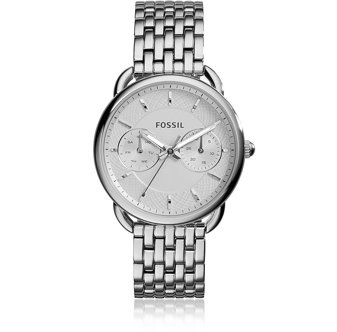 Tailor Multifunction Stainless Steel Women's Watch - Fossil