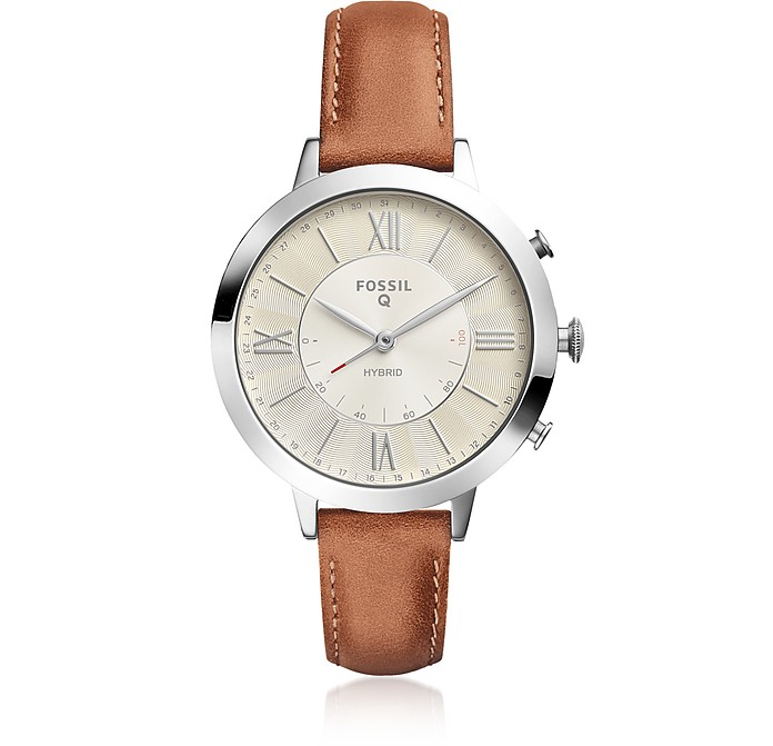 Hybrid Smartwatch - Q Jacqueline Luggage Leather - Fossil