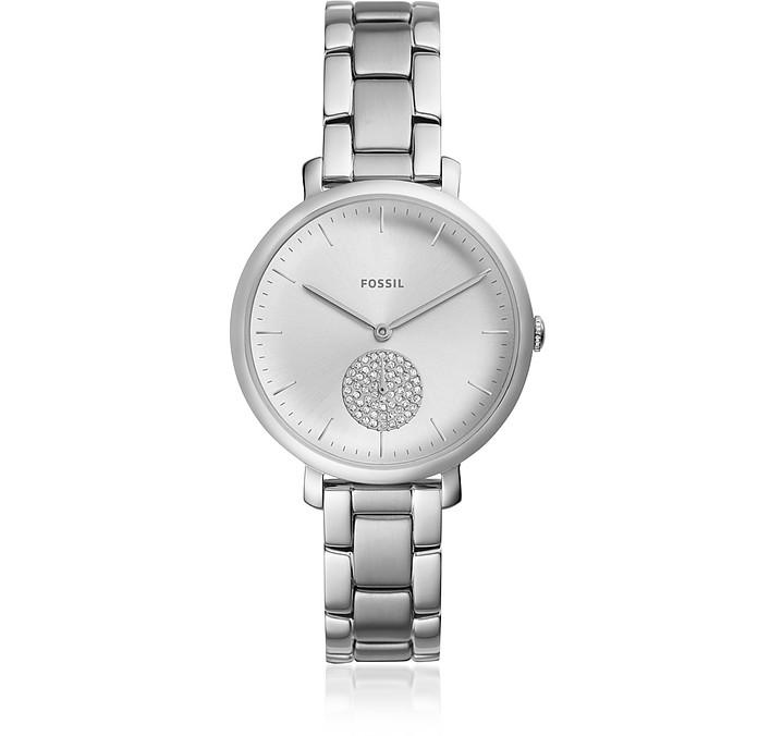 971409cda Jacqueline Three Hand Stainless Steel Women's Watch Fossil su FORZIERI