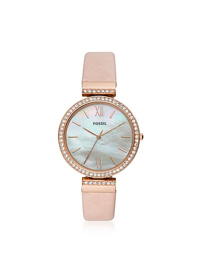 Madeline Pink Leather Women's Watch - Fossil