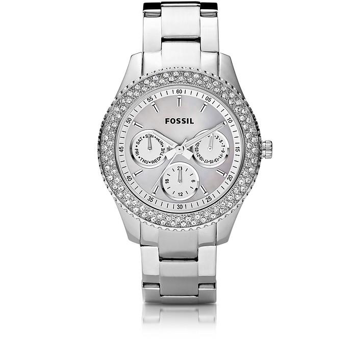 Stella Multifunction Stainless Steel Women's Watch  - Fossil