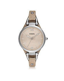 Georgia Riley Stainless Steel Women's Watch - Fossil