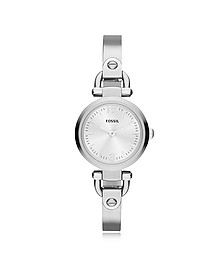 Georgia Mini Stainless Steel Women's Watch - Fossil