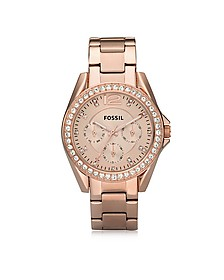 Riley Stainless Steel Women's Watch - Fossil