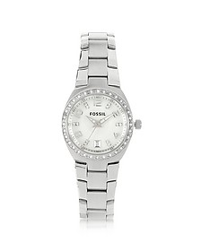 Stainless Steel & Crystals Women's Bracelet Watch - Fossil