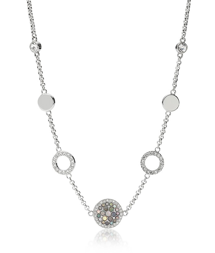 Vintage Glitz Crystal Women's Necklace - Fossil