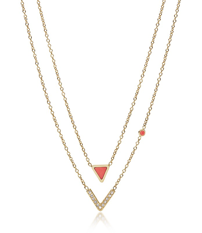 JF02894710 Fashion Women's Necklace - Fossil