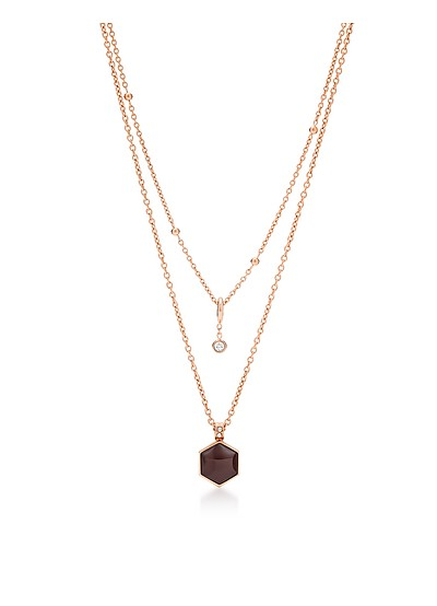 Heritage Double Necklace - Fossil