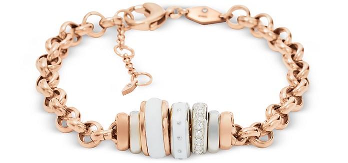 Classics Rose Gold Women's Bracelet - Fossil