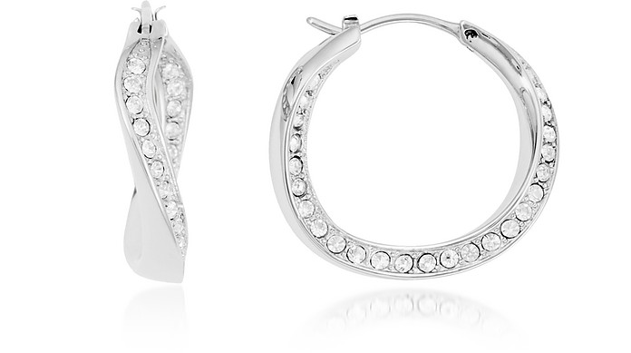 Twist Hoop Earrings - Fossil