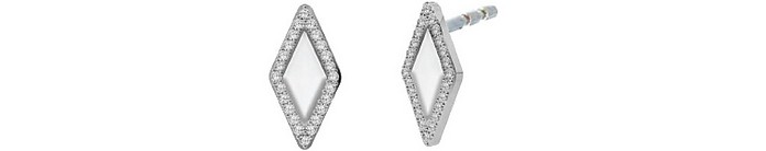 Classics Stainless Steel Women's Earrings - Fossil