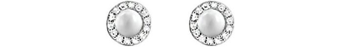 Sterling Silver 925 Sterling Silver Women's Earrings - Fossil