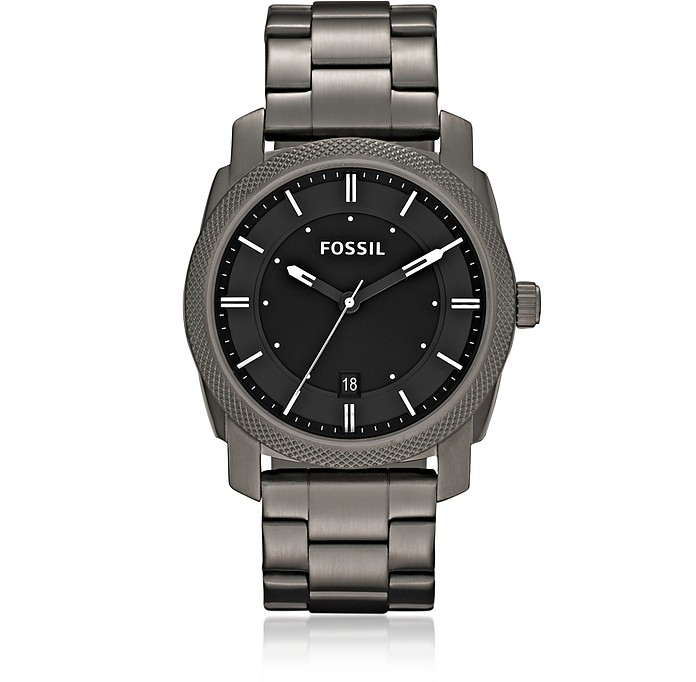 Machine Smoke Stainless Steel Watch - Fossil