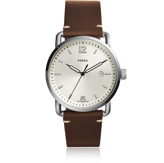 FS5275 The commuter 3h date Men's Watch - Fossil
