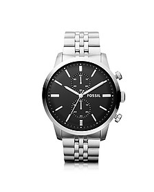 Townsman Chronograph Silver Stainless Steel Men's Watch