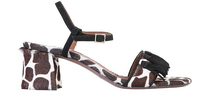 Sandals With Animal Print - L'Autre Chose