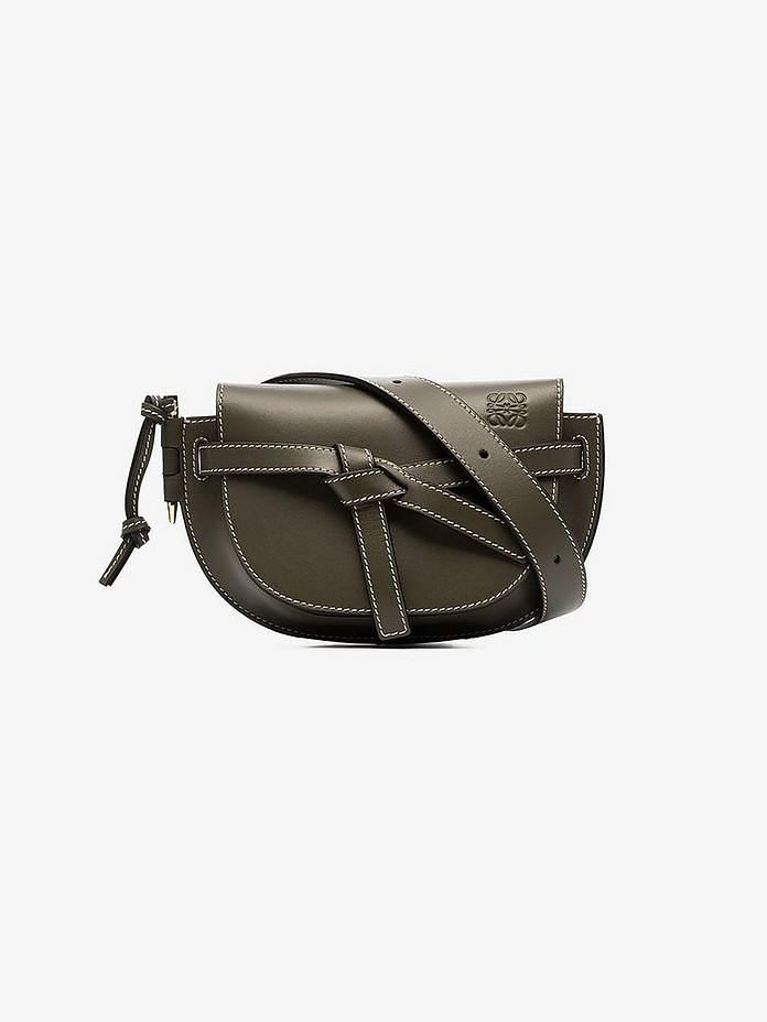 Green gate mini leather belt bag - Loewe