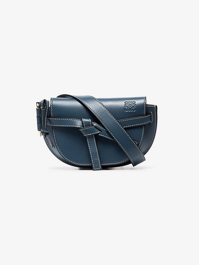 Blue Gate mini leather belt bag - Loewe