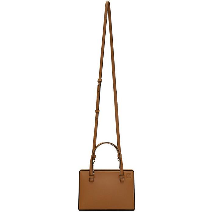 Tan Small Postal Bag - Loewe