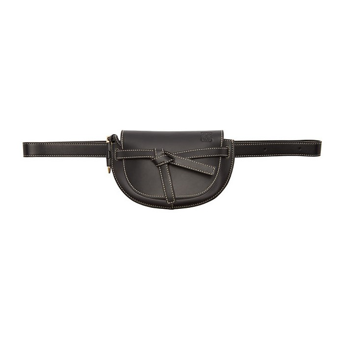 Black Mini Gate Bum Bag - Loewe