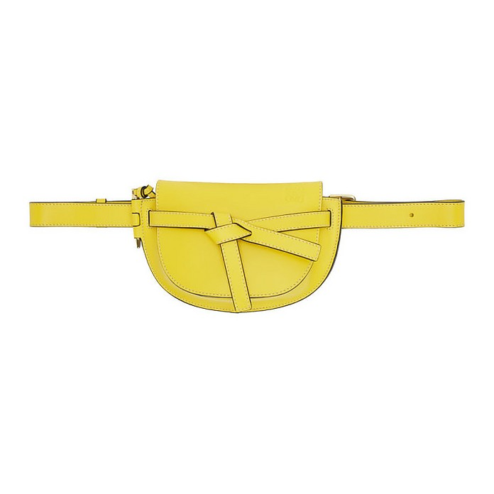 Yellow Mini Gate Bum Bag - Loewe
