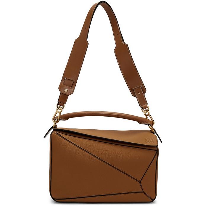 Tan Puzzle Bag - Loewe