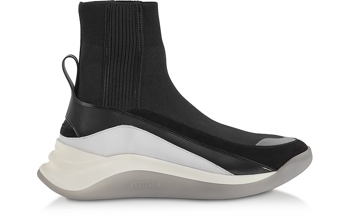 Black Ovada Pull-On Sneakers - SportMax