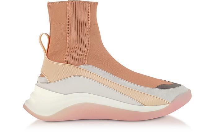 Nude Ovada Socks Sneakers - SportMax