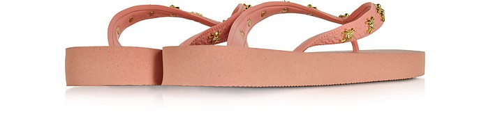 7cde1ee9a352 Charlotte s Web Havaianas Light Rose Rubber Flip Flop - Charlotte Olympia.   95.00 Actual transaction amount