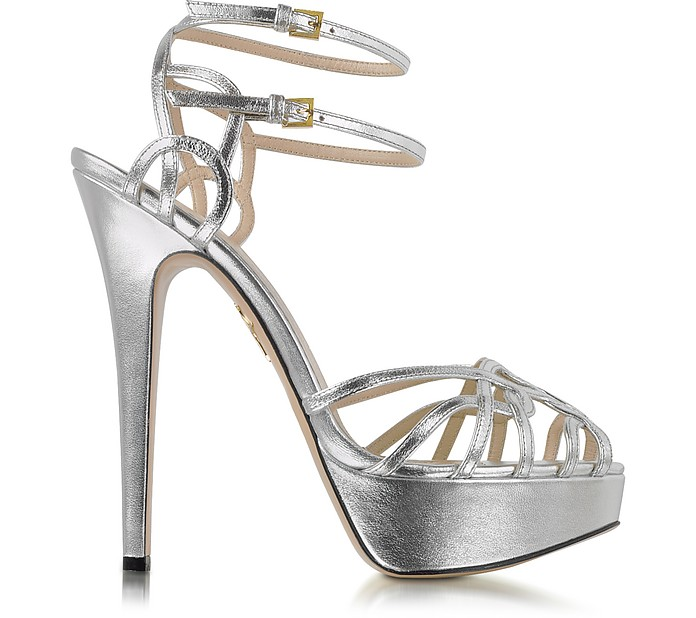 clearance find great the cheapest sale online Charlotte Olympia Metallic Platform Sandals clearance online official site vvUW6aCFA