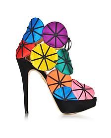 Parasol Multicolour Platform Sandal