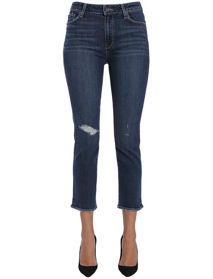 Jacqueline Straight Jeans - Paige