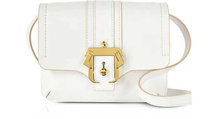 Cloud Dancer Gigi Crossbody Tasche aus Leder - Paula Cademartori