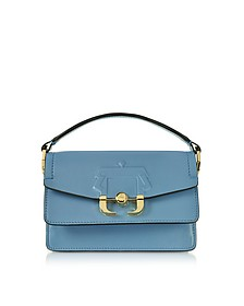 Lichen Blue Leather Twi Twi Bag - Paula Cademartori