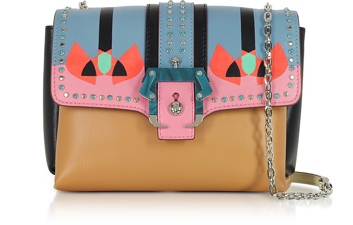 Geranium Pink Carine Love Shoulder Bag - Paula Cademartori