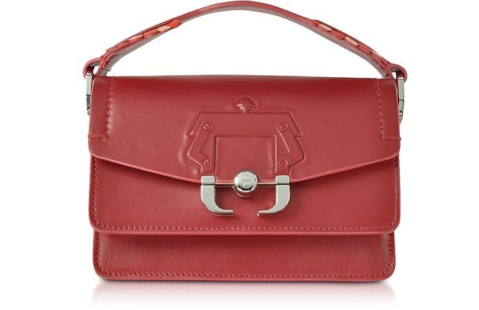 Twi Twi Red Dahlia Leather Shoulder Bag - Paula Cademartori