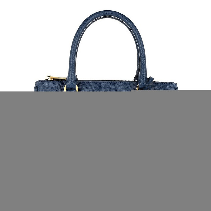 Galleria Tote Bag Small Bluette - Prada