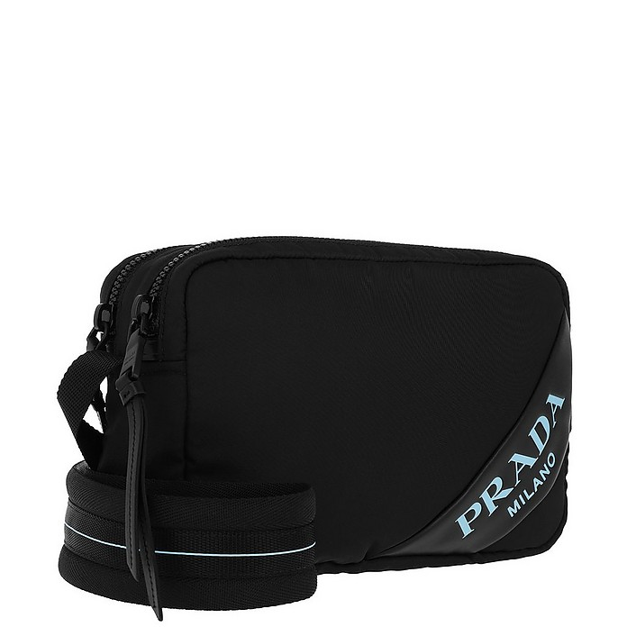 17eb06d47f80 Mirage Shoulder Bag Nylon Black - Prada. $1,158.00 Actual transaction amount