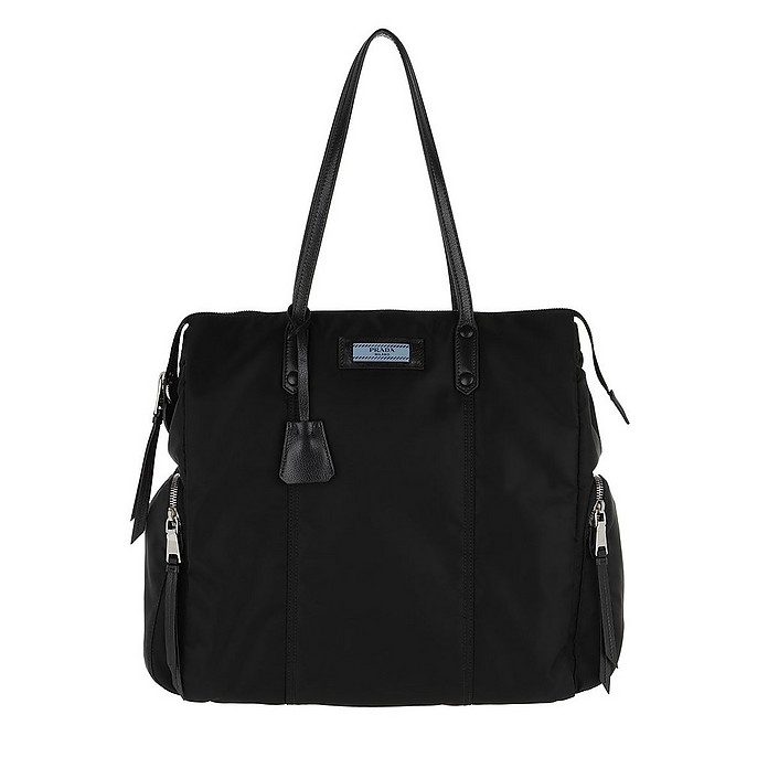 Etiquette Bag Nylon/Leather Black - Prada / プラダ