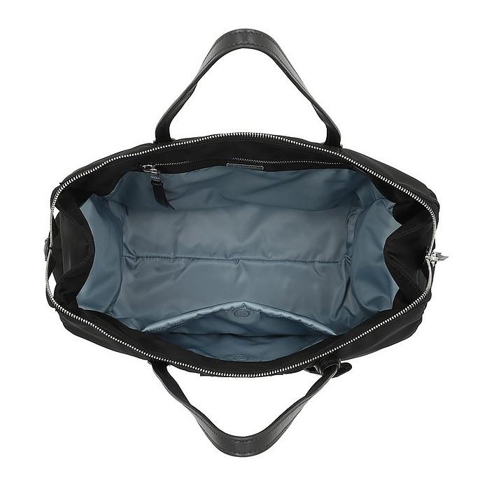 1981b1941ffa Prada Etiquette Bag Nylon/Leather Black at FORZIERI Canada