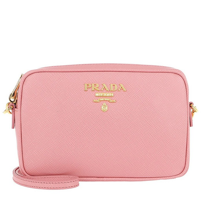 Camera Bag Crossbody Saffiano Leather Petalo - Prada