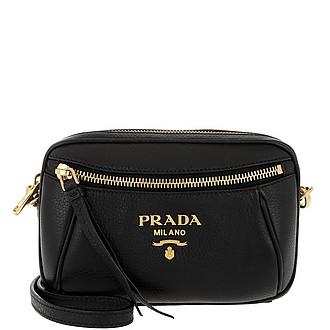 1e4125d7905f Belt Beg In Pelle Di Vitello Nero - Prada