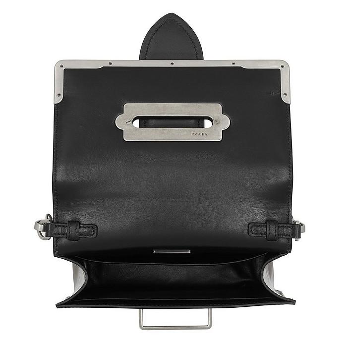 b3ed99f20b51 Cahier Shoulder Bag Metallic Leather Cammeo/Nero - Prada. $1,633.50  $2,178.00 Actual transaction amount