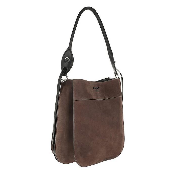 507b1cbc3e4a Margit Bag Suede Bruciato/Nero - Prada. $2,965.00 Actual transaction amount