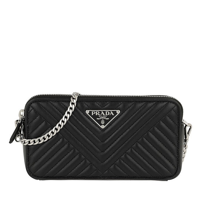 Mini Bag Saffiano Black - Prada / プラダ