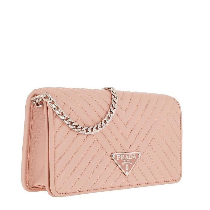 ec40e935a9dfdb Mini Crossbody Bag Quilted Leather Orchidea - Prada. €745,00 Actual  transaction amount