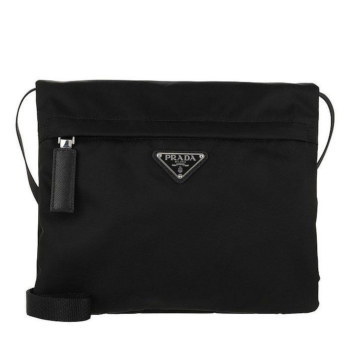 Crossbody Bag Nylon Black - Prada