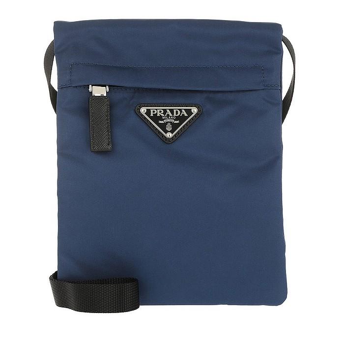 Technial Fabric Shoulder Bag Royal - Prada