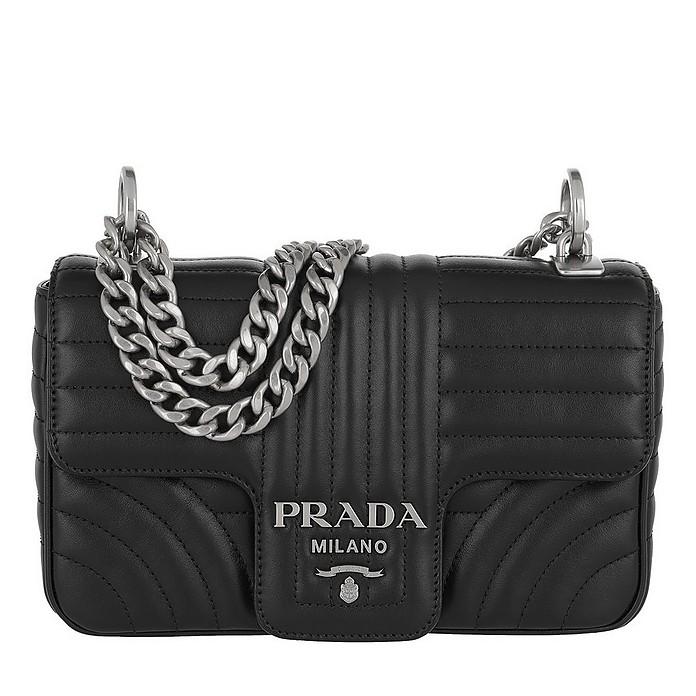 e96dcee34f66 Prada Diagramme Shoulder Bag Bag Nero at FORZIERI